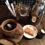 珈琲屋 松尾 - ポットで出されるブレンドコーヒー@420円