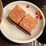 珈琲屋 松尾 - コーヒーについてきたわらび餅