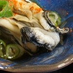 海賊亭 - かきづくし定食 牡蠣の酢の物