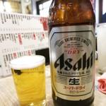 酒道場 陣屋 - 瓶ビール495円