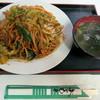 食堂花笠 - 料理写真:焼きそば 600円