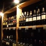 焼肉居酒屋 マルウシミート - マルウシミートのお肉に合うワインを品揃え♪