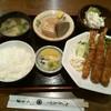 くるま - 料理写真:日替わり定食(海老フライ)♪730円