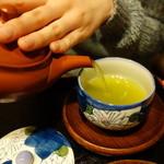 玉露園喫茶室 - 煎茶