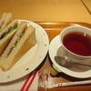 パラソル ナンバ - 料理写真:ハムサンドモーニング 390円