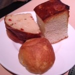 チンギアーレ - ランチのパン