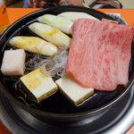 米久本店 - トクの牛鍋 (すき焼き)