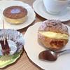 仏蘭西菓子舗 ノアドール - 料理写真:ケーキ(シュークリーム)セット・50円引き*モーニングサービスで焼菓子1つ頂けました^ ^
