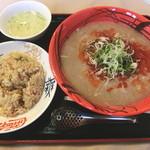 王福 - こく旨タンタン麺&半チャーハン