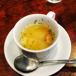 Rui - オムライスランチのスープ
