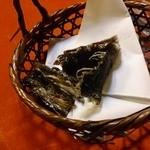 竹亭 - 魚の皮