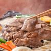 松尾ジンギスカン - 料理写真:両面さっと色が変わるくらいが食べごろです