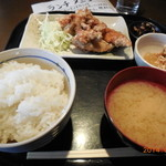 24287495 - 塩からあげ定食(390円)
