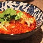 中国四川料理 梅香 - 三種冷菜盛り合せ (四川名物 よだれ鶏)