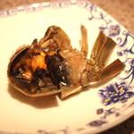 中国四川料理 梅香 - 酔っぱらい蟹 (上海蟹紹興酒漬)