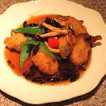 中国四川料理 梅香 - カキの唐辛子炒め