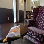 ナガハマコーヒー - 奥の席は寛げます♪