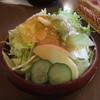 キッチンこころ - 料理写真:サラダ!オリーブオイルと柑橘系(?)の香りがする爽やかなドレッシングでした!