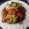 加牟那 - 料理写真:チキンのピカタランチ¥1050の「メインプレート」
