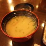 24301776 - 本日の味噌汁