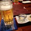 京琉酒彩 海月 - 料理写真:オリオンと突き出し