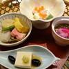 縁 - 料理写真:黒豚汁しゃぶと握り寿司らんちの花篭盛り