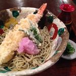 手打ち蕎麦 東風 - 海老天おろし蕎麦1470円