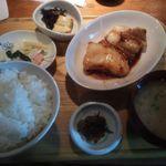 手仕ごと旬鮮台所 たかなし - 銀ムツ照焼¥900