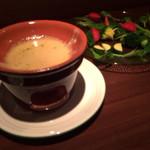 マルキNOZA - バーニャカウダ★野菜が甘くて美味しい!