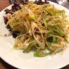 釜山 - 料理写真:ネギサラダ