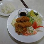 公園通りの洋食屋 ROMAN - 牡蠣フライ