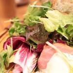 ザ シティ ベーカリー - ブレックファストセットのサラダ