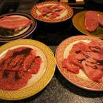 一升びん - 「松坂肉」の特選や上、カルビ、バラなど