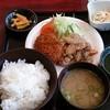 マタリ - 料理写真:ポーク焼肉とカレーコロッケ(580円)