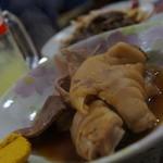 おでん東大 - 料理写真:おでんと刺身