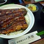 うなぎの天保 - うな丼の並(1150円)