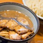 月と鼈 - 肉玉つけ麺【2014年2月】