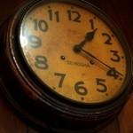 平岡珈琲店 - 歴史を感じるSEIKOSHA(精工舎:現SEIKO)の時計がカッコいい