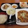 氷花餃子 - 料理写真:日替りランチ(麻婆豆腐)