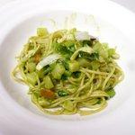 ラ・クチネッラ・ディ・ヤマモト - 剣先烏賊と大根菜のジェノベーゼ