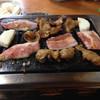 花林 - 料理写真:とんちゃん、トンバラ、トントロ、山芋!!