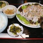 いな葉 - 豚しゃぶ定食
