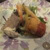 バル・ルフージュ - 料理写真:田舎風パテとエビのムースの揚げもの