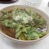 みはらし休息所 - 料理写真:明日葉天ぷらそば