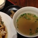 HOI - ランチのモンゴイカの辛し炒め(1,000円)2014年2月