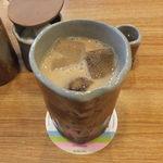 カフェ大好き - アイスカフェオレ