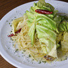 ノック クッチーナ・ボナ・イタリアーナ - 料理写真:たっぷりキャベツの『アンチョビ・ペペロンチーノ』スパゲッティーニ