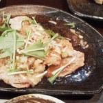 らーめん 軽菜 - 豚バラポン酢550円