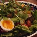24430262 - Feb, 2014 大山鶏砂肝コンフィとキノコ・玉子のたっぷりサラダ