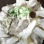 麺屋酒田inほなみ - みそラーメン:肉 増し増し(≧∇≦)